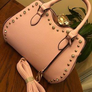 Traci Lynn Pink Diamond Bag